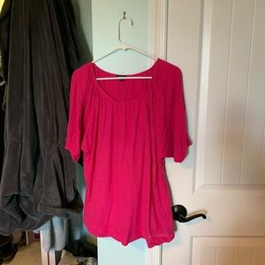 Express Flowy Top, size Large